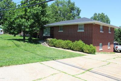 Jefferson City Single Family Home For Sale: 1707 Southwest Boulevard