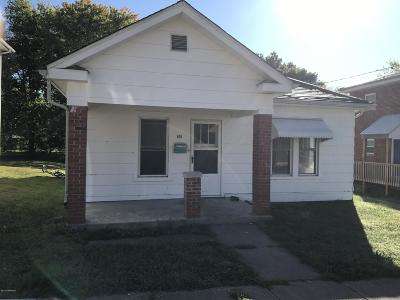 Single Family Home For Sale: 615 Michigan Street