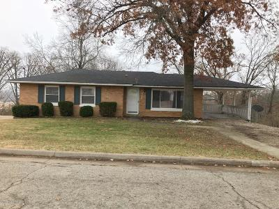Jefferson City MO Single Family Home For Sale: $109,500