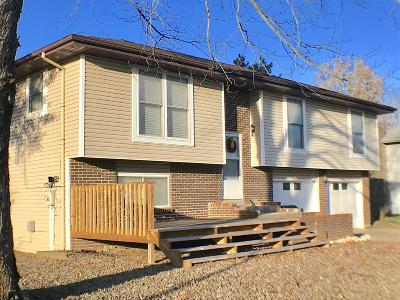 Jefferson City MO Single Family Home For Sale: $138,900