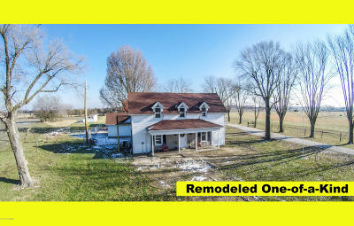 Ashland, Columbia, Hartsburg, Fulton, Holts Summit, New Bloomfield, Centertown, Eugene, Jefferson City, Russellville, Wardsville Single Family Home For Sale: 10854 Old Highway 54