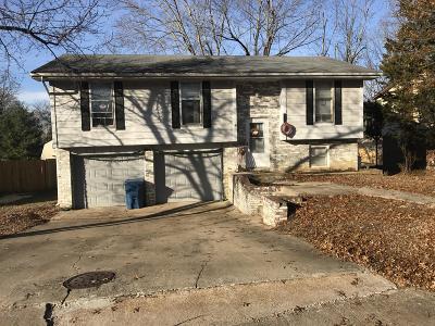 Jefferson City MO Single Family Home For Sale: $74,500