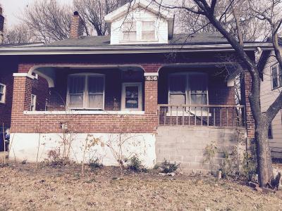 Jefferson City MO Single Family Home For Sale: $45,900