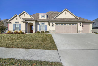 Columbia Single Family Home For Sale: 6209 Bent Grass Way