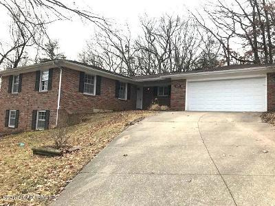 Jefferson City Single Family Home For Sale: 2101 Cedar Hill Road