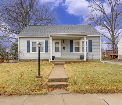 Single Family Home For Sale: 1207 Vine Street