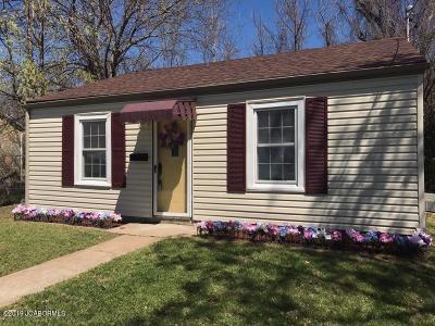 Jefferson City Single Family Home For Sale: 1301 E Elm Street