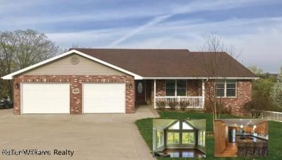Jefferson City Single Family Home For Sale: 3908 Glovers Ford Road