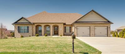 Single Family Home For Sale: 6414 Kleffner Ridge