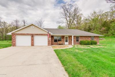 Jefferson City Single Family Home For Sale: 7701 Hunters Lane