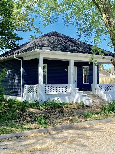 Single Family Home For Sale: 602 West Street