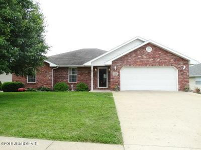 Jefferson City MO Single Family Home For Sale: $178,000