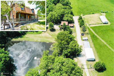 Single Family Home For Sale: 10973 State Road Bb