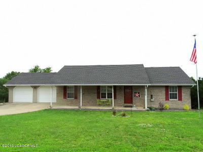 Holts Summit Single Family Home For Sale: 1538 Summit View Drive