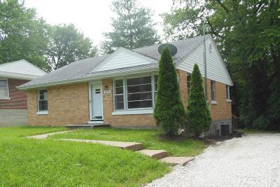 Jefferson City Single Family Home For Sale: 1606 E Miller Street