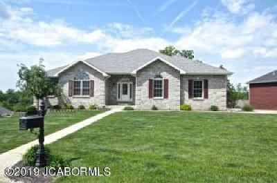 Ashland, Columbia, Hartsburg, Fulton, Holts Summit, New Bloomfield, Centertown, Eugene, Jefferson City, Russellville, Wardsville Single Family Home For Sale: 2448 Camzie Drive