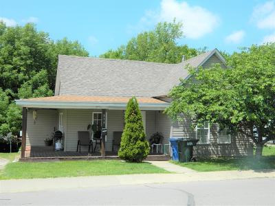 Single Family Home For Sale: 833 Jefferson Street
