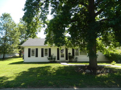 Ashland, Columbia, Hartsburg, Fulton, Holts Summit, New Bloomfield, Centertown, Eugene, Jefferson City, Russellville, Wardsville Single Family Home For Sale: 1206 Circle Drive