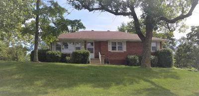 Jefferson City MO Single Family Home For Sale: $109,900