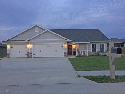 Ashland, Columbia, Hartsburg, Fulton, Holts Summit, New Bloomfield, Centertown, Eugene, Jefferson City, Russellville, Wardsville Single Family Home For Sale: 385 Dover Drive
