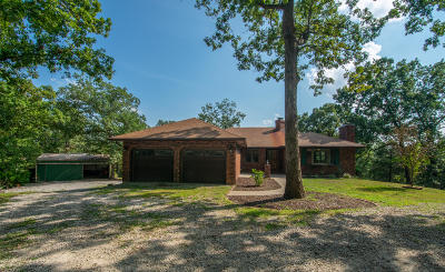 Ashland, Columbia, Hartsburg, Fulton, Holts Summit, New Bloomfield, Centertown, Eugene, Jefferson City, Russellville, Wardsville Single Family Home For Sale: 12500 County Road 4027