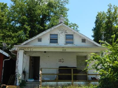 Ashland, Columbia, Hartsburg, Fulton, Holts Summit, New Bloomfield, Centertown, Eugene, Jefferson City, Russellville, Wardsville Single Family Home For Sale: 313 Locust Street