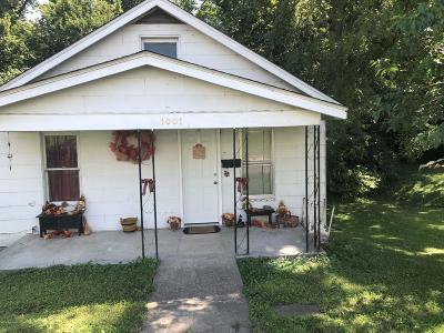Jefferson City MO Single Family Home For Sale: $40,000