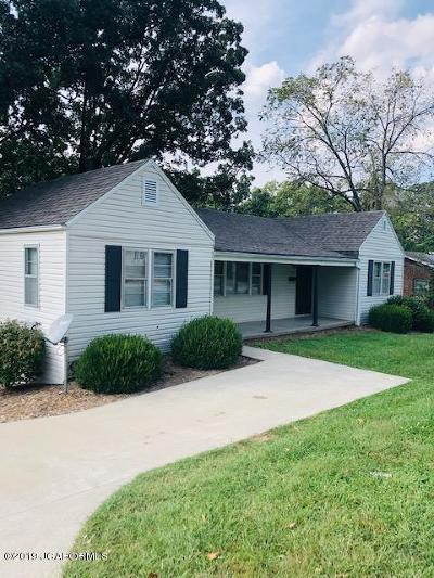 Jefferson City MO Single Family Home For Sale: $89,900