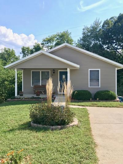 Jefferson City MO Single Family Home For Sale: $81,500