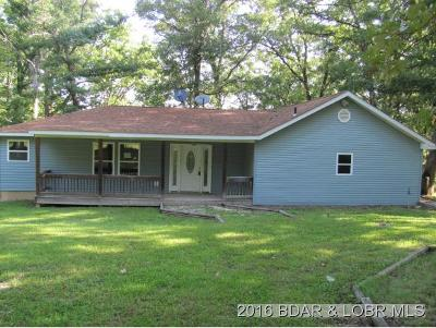 Benton County, Camden County, Cole County, Dallas County, Hickory County, Laclede County, Miller County, Moniteau County, Morgan County, Pulaski County Single Family Home For Sale: 16713 Garden Crest