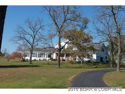 Climax Springs Single Family Home For Sale: 10035 N State Hwy 7