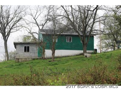 Versailles MO Single Family Home For Sale: $25,000