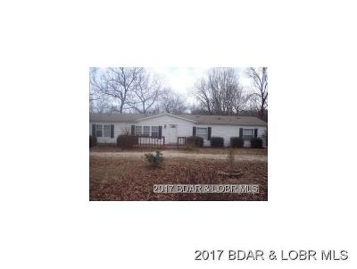 Benton County, Camden County, Cole County, Dallas County, Hickory County, Laclede County, Miller County, Moniteau County, Morgan County, Pulaski County Single Family Home For Sale: 33645 Dover Road