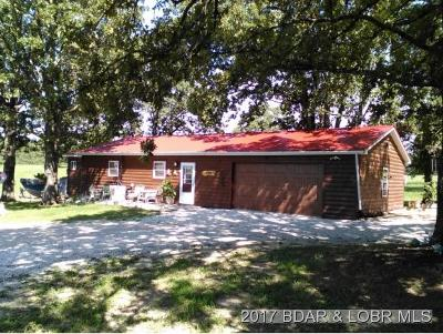 Macks Creek MO Single Family Home For Sale: $189,900