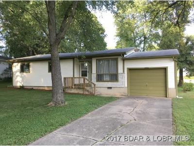 Eldon MO Single Family Home For Sale: $84,900