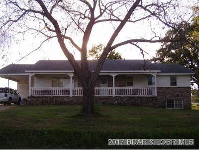 Macks Creek Single Family Home For Sale: 85 Stoufer Rd