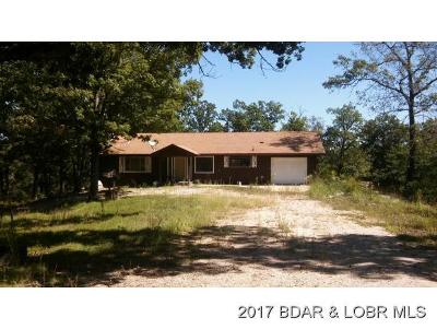 Benton County, Camden County, Cole County, Dallas County, Hickory County, Laclede County, Miller County, Moniteau County, Morgan County, Pulaski County Single Family Home For Sale: 711 Highway O