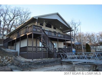 Benton County, Camden County, Cole County, Dallas County, Laclede County, Miller County, Moniteau County, Morgan County, Pulaski County Single Family Home For Sale: 29461 Mill Creek Marina Road
