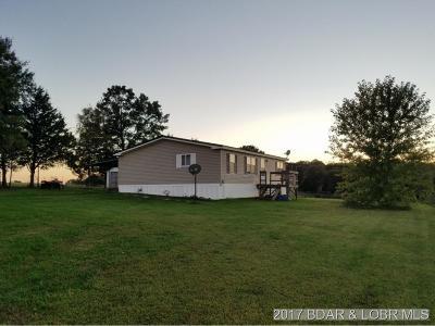 Macks Creek Single Family Home For Sale: 3068 W Branch Rd.