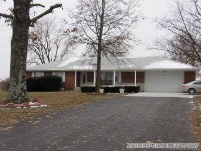 Eldon Single Family Home For Sale: 93 Highway 87