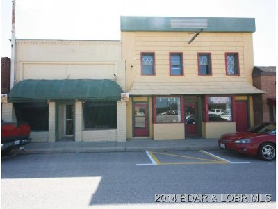 Camdenton Commercial For Sale: 107 W Hwy 54