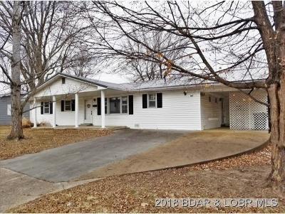 Eldon Single Family Home For Sale: 507 E. Harrison