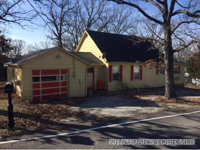 Osage Beach MO Single Family Home For Sale: $59,000