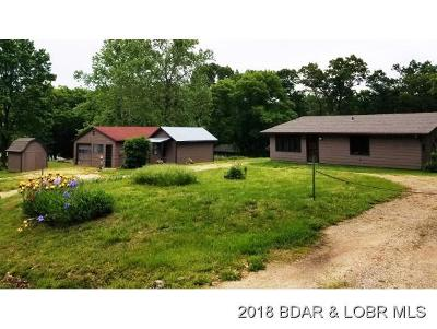 Lake Ozark MO Single Family Home For Sale: $144,900