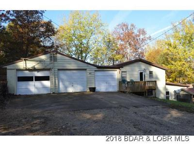 Benton County, Camden County, Cole County, Dallas County, Hickory County, Laclede County, Miller County, Moniteau County, Morgan County, Pulaski County Single Family Home For Sale: 326 Trails End Road