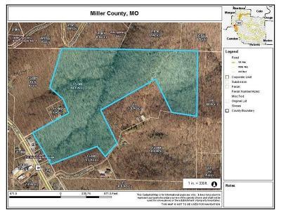 Benton County, Camden County, Cole County, Dallas County, Hickory County, Laclede County, Miller County, Moniteau County, Morgan County, Pulaski County Residential Lots & Land For Sale: Tbd Black Oak Road