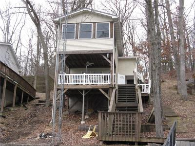 Rocky Mount Single Family Home Contingent: 30439 Edge View Drive