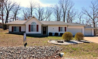 Lake Ozark MO Single Family Home For Sale: $164,900