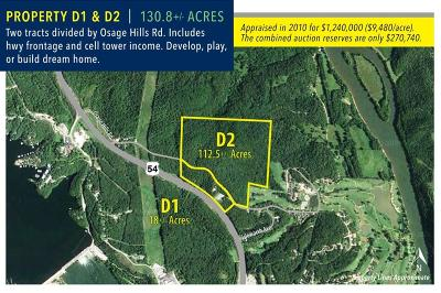Residential Lots & Land For Sale: Osage Hills Road