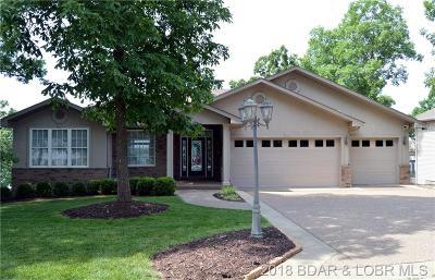 Lake Ozark MO Single Family Home For Sale: $599,500